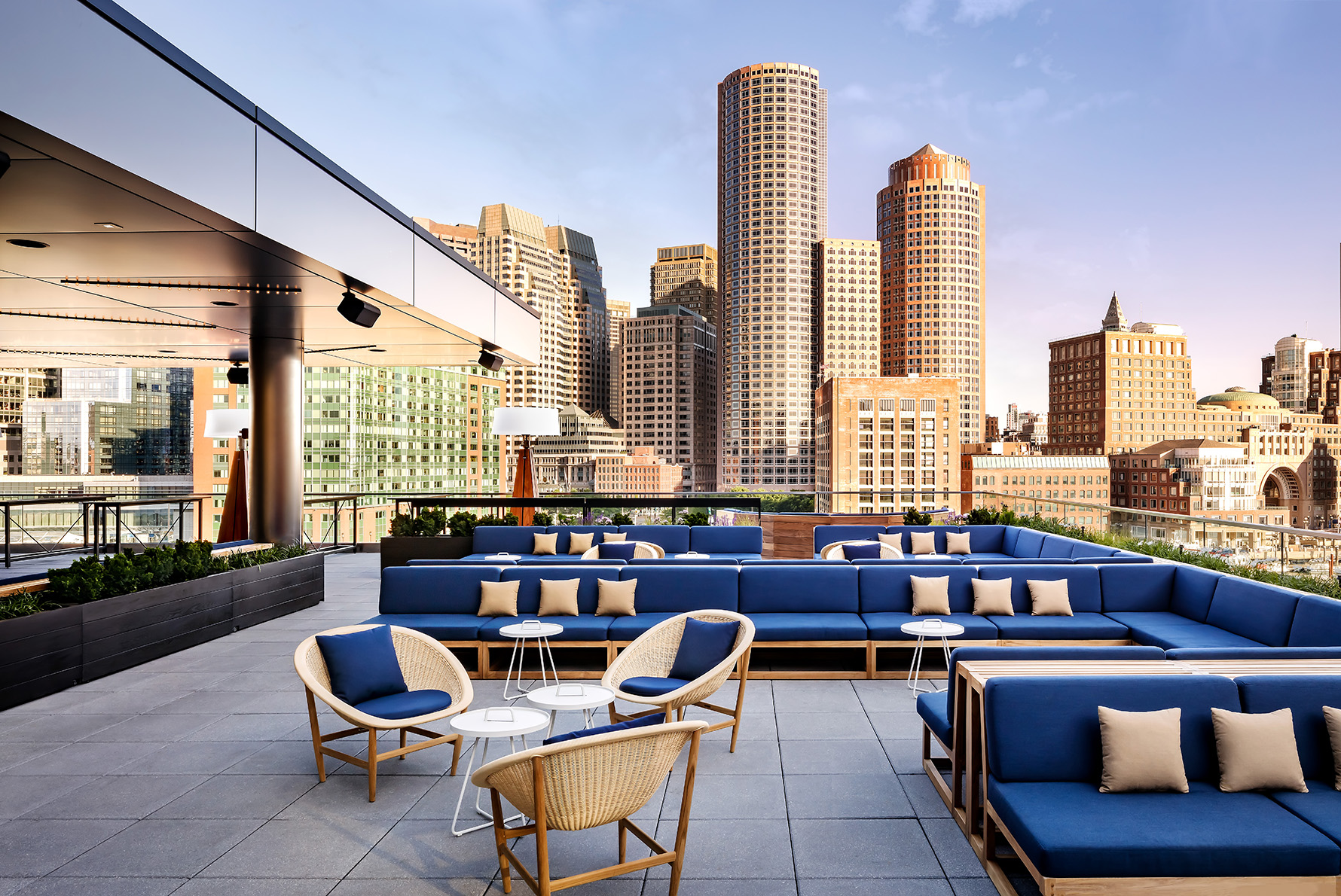 Boston Seaport | Lookout Rooftop & Bar