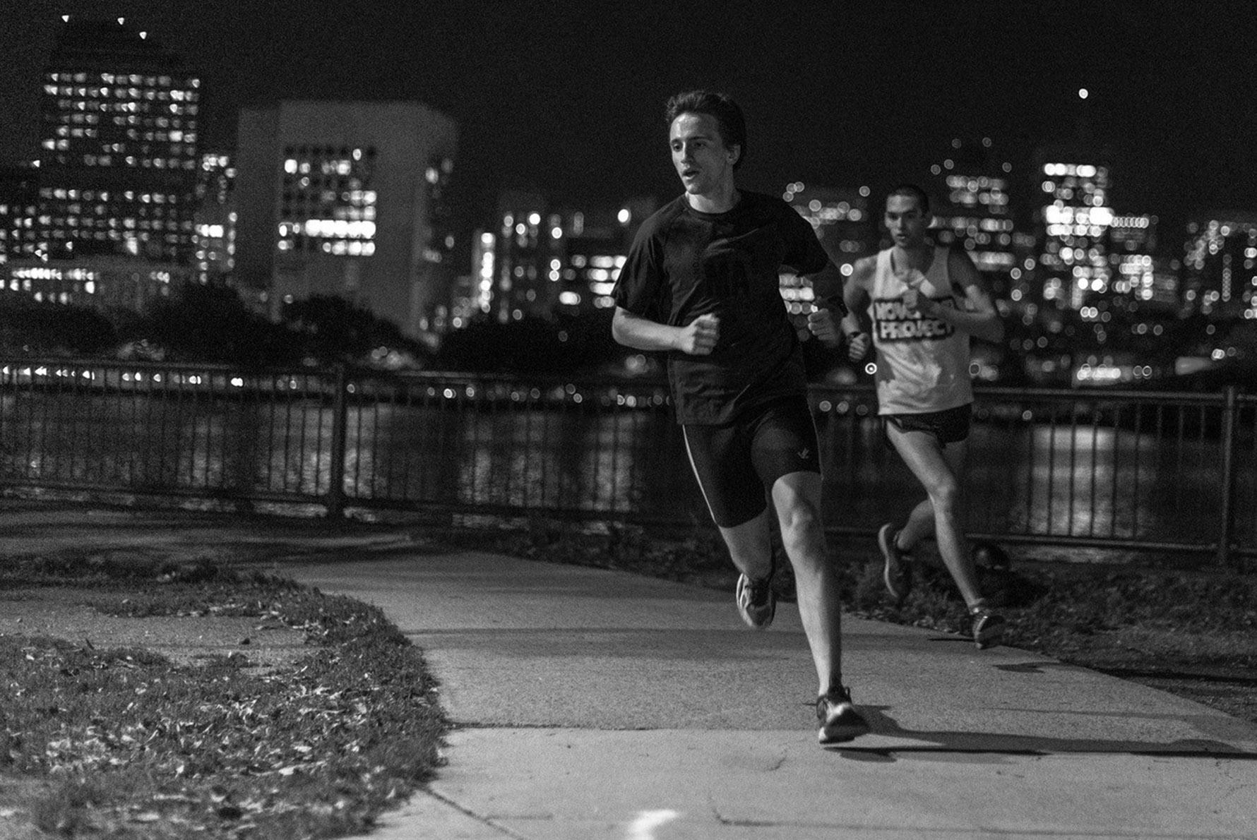 boston seaport lululemon run club