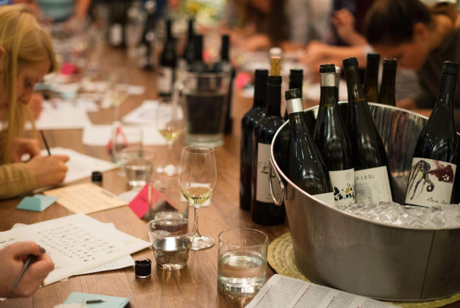 Boston Seaport Tuscan Kitchen Hindsight Vineyard Wine Dinner